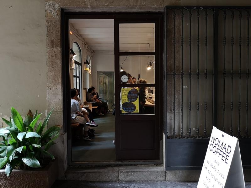 nomad01 Barcelona-巴塞隆納Nomad Coffee Lab & Shop美女執壺 好看也好喝