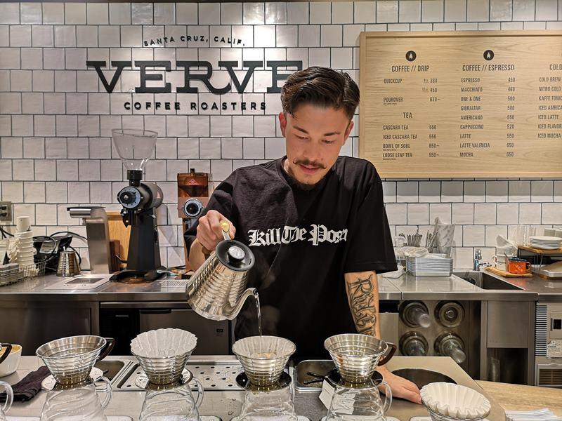 vervecoffee17 Shinjuku-新宿車站Verve Coffee Roasters加州來的咖啡Bar不只吸睛人氣滿分