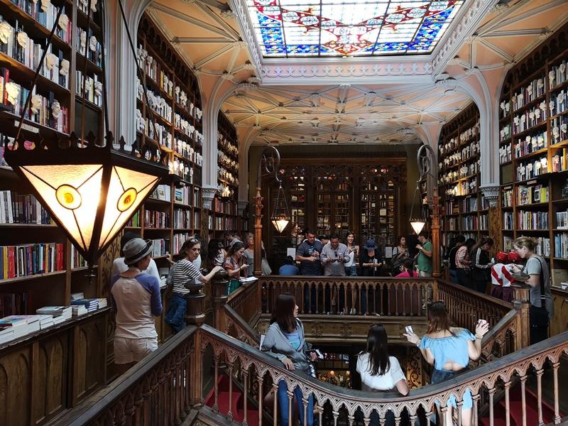 bookstore23 Porto-Livraria Lello波多 世界最美書店之一 JK羅琳加持的波多必遊景點