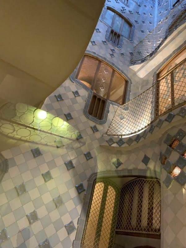 Casa-Batllo011114 Barcelona-巴塞隆納世界文化遺產 高第建築  巴特略之家/文森之家