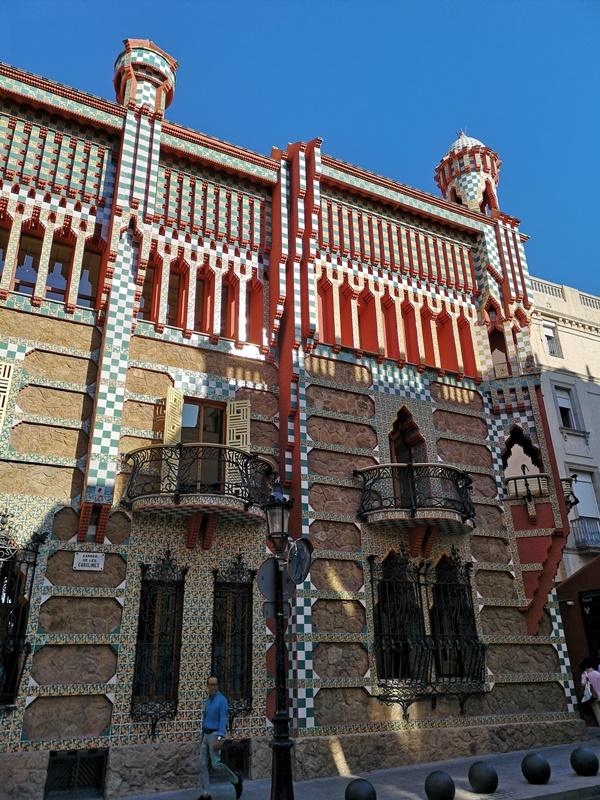 Vicens1114 Barcelona-巴塞隆納世界文化遺產 高第建築  巴特略之家/文森之家