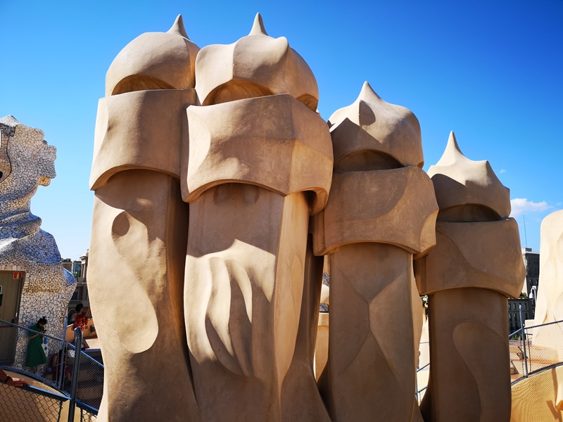 casamila15 Barcelona-巴塞隆納世界文化遺產 高第建築米拉之家 來自外星的設計