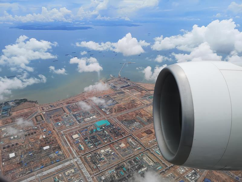 flysinsing39 201811台北新加坡 第一次享受KITTY商務艙