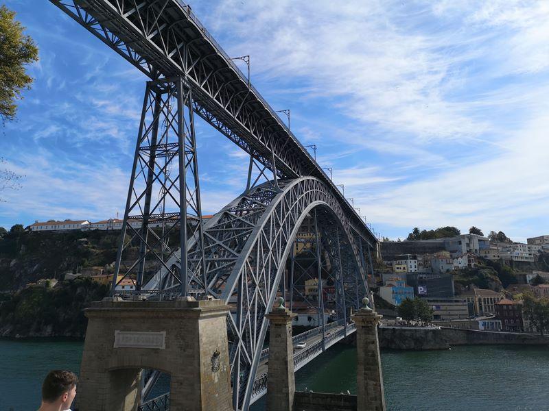 luiz1bridge34 Porto-歐洲第一名的觀光城市波多 Douro河岸風光綺麗 路易一世鐵橋壯觀
