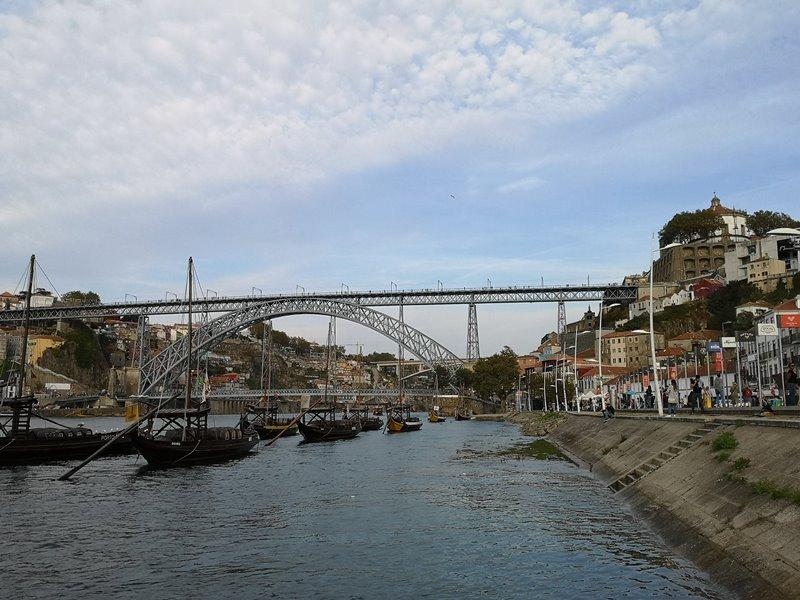 luiz1bridge70 Porto-歐洲第一名的觀光城市波多 Douro河岸風光綺麗 路易一世鐵橋壯觀