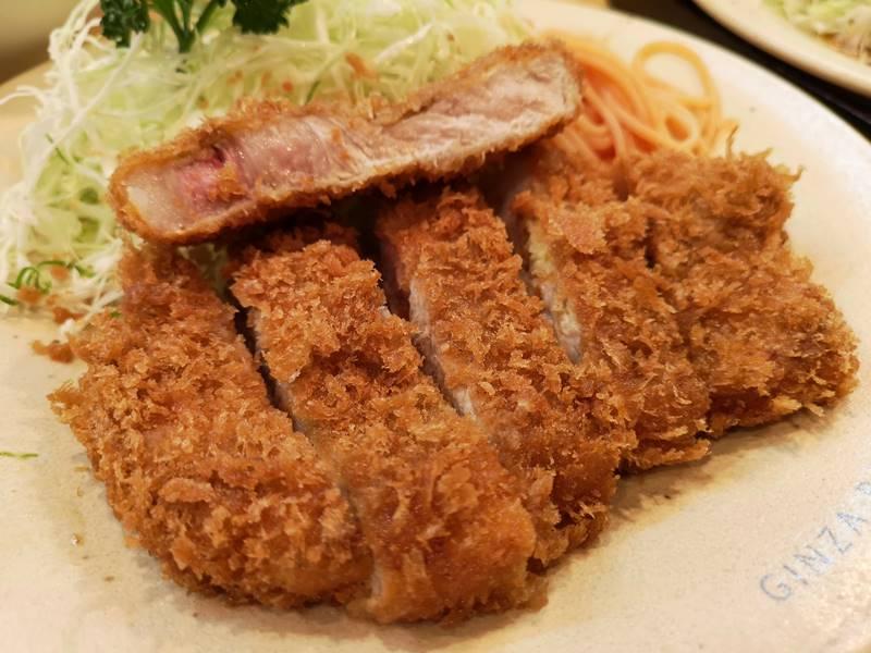 maylinginza13 Ginza-銀座梅林90年老店炸豬排 麵衣酥脆不油膩 豬肉軟嫩有彈性