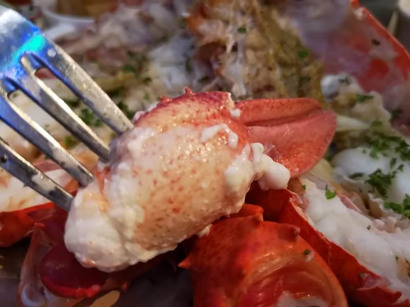 wayne15 中山-Wayne's Boston美式餐廳的海陸大餐龍蝦彈牙肋眼軟嫩 意外的耶誕大餐
