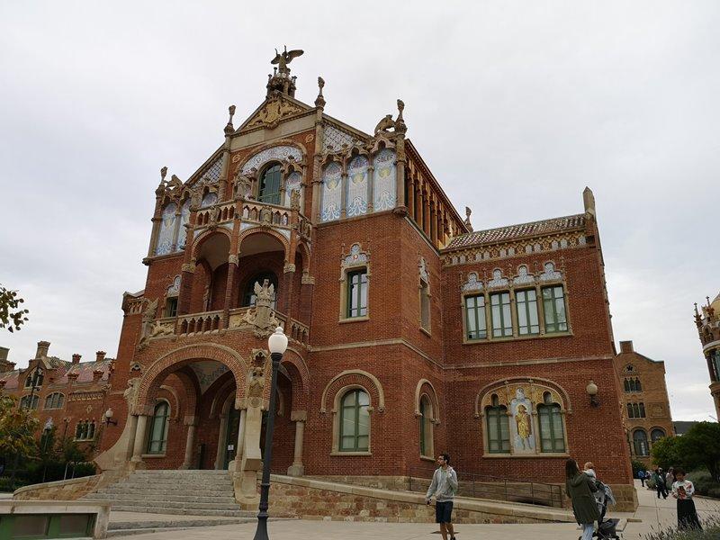 barcelonasantpau14 Barcelona-聖十字聖保羅醫院 巴塞隆納現在主義建築三傑之多明尼克...世界文化遺產