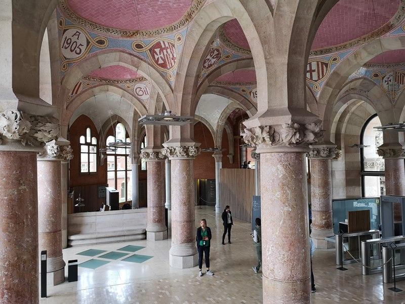 barcelonasantpau33 Barcelona-聖十字聖保羅醫院 巴塞隆納現在主義建築三傑之多明尼克...世界文化遺產