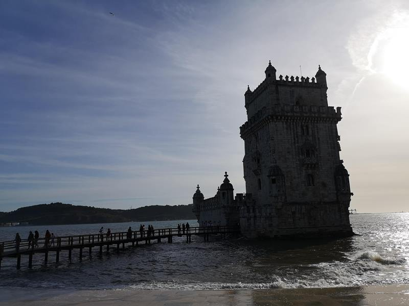 belemtowerr01 Lisboa-護衛里斯本的港區貝倫塔 世界文化遺產與湊熱鬧的發現者紀念碑