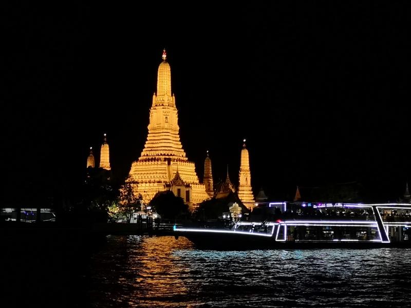 CPYcruise211519 Bangkok-曼谷Chao Phraya Princess昭披耶河公主號 有吃有玩賞美景