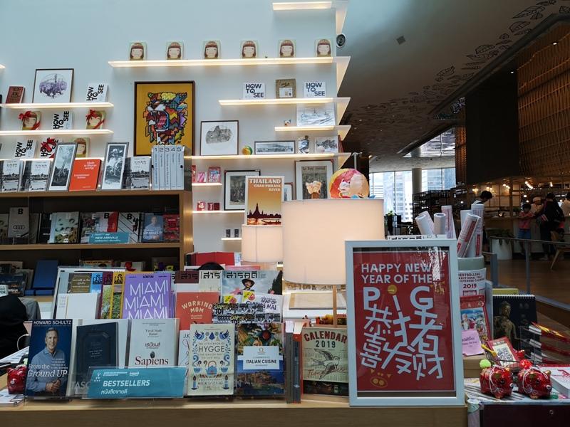 openhouse06 Bangkok-曼谷精品百貨Central Embassy最美的書店Open House