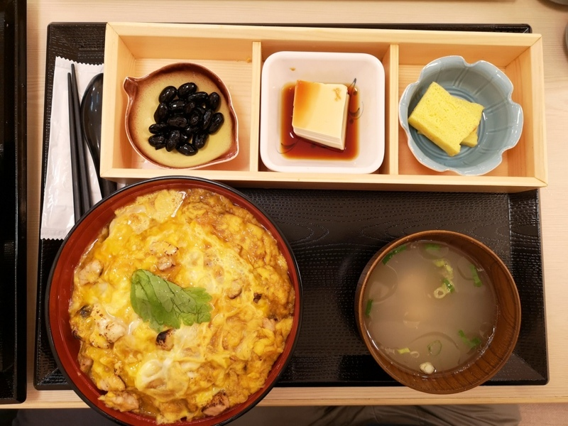 sanwa6 信義-雞三和(統一時代百貨) 親子丼滑嫩爽口 湯頭清爽好搭配