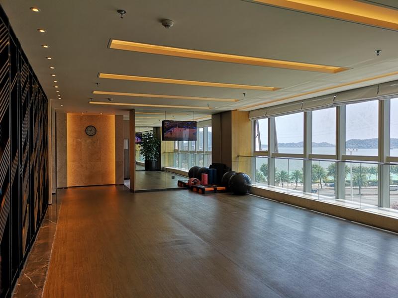 xiamenmarriott45 Xiamen-廈門泰地萬豪酒店 乾淨的發亮的窗戶與地板...新的就是好