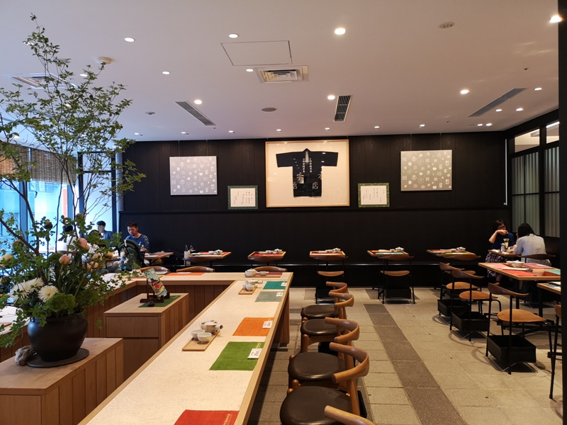 nakamura04 Ginza-中村藤吉 GSIX中馳名日式茶點店 濃茶葛餅的搭配超有戲...苦澀中帶著甘甜的美好