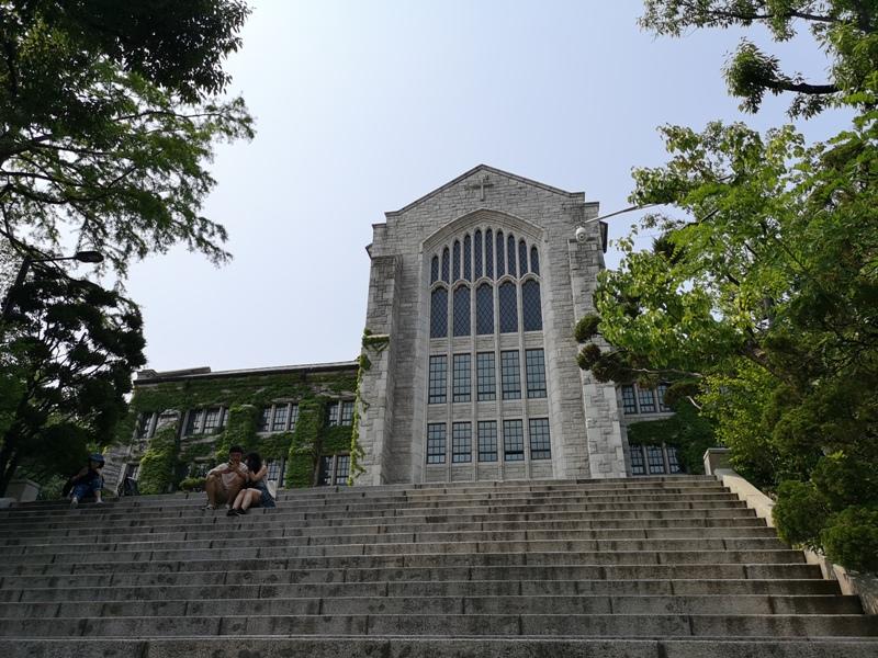 ewhau07 Seoul-梨花女子大學 韓國名校首爾必訪 優雅美麗的校園景色慢慢逛