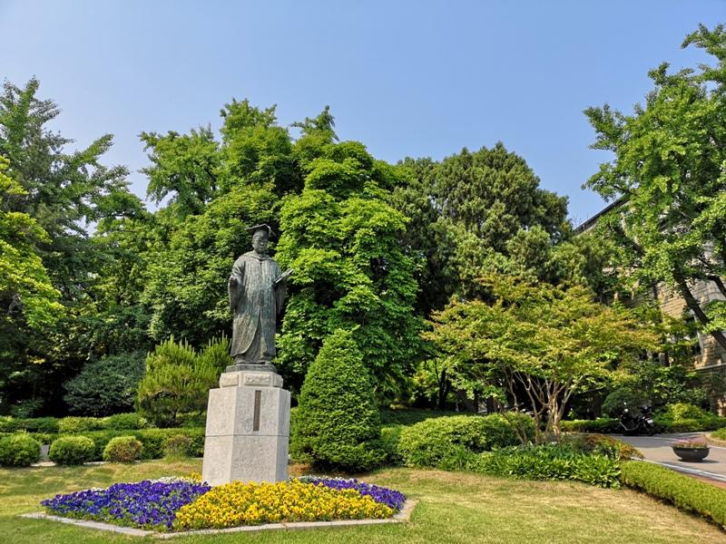 ewhau19 Seoul-梨花女子大學 韓國名校首爾必訪 優雅美麗的校園景色慢慢逛
