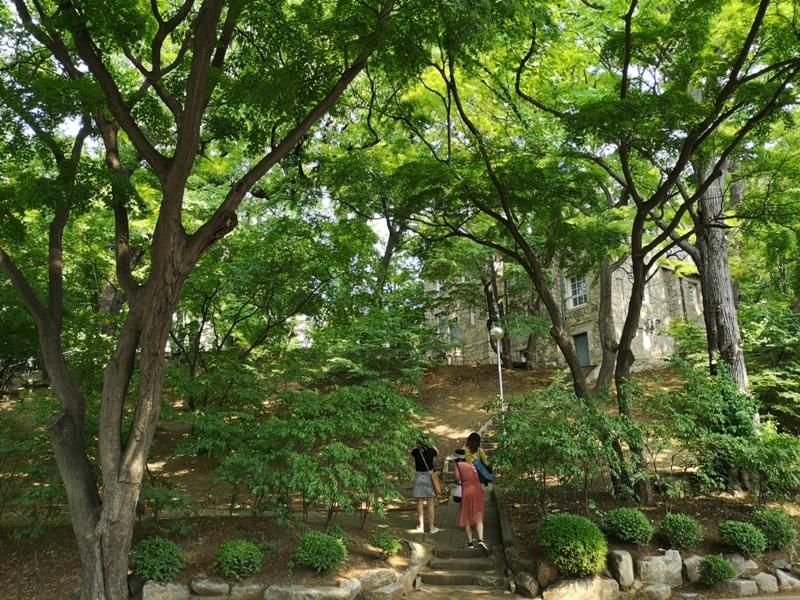 ewhau21 Seoul-梨花女子大學 韓國名校首爾必訪 優雅美麗的校園景色慢慢逛