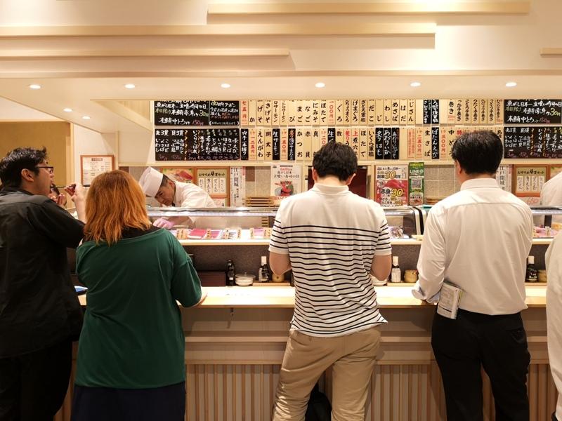 lisushi3 Tamachi-魚がし日本一(ムスブ田町店) 平價清爽好吃好適合夏天吃的立食壽司店