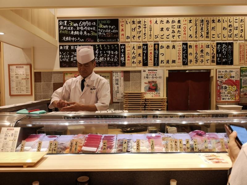 lisushi4 Tamachi-魚がし日本一(ムスブ田町店) 平價清爽好吃好適合夏天吃的立食壽司店