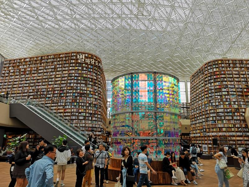 starfieldlibrary01 Seoul-首爾IG打卡熱點COEX MALL Starfield Library星空圖書館 超好拍