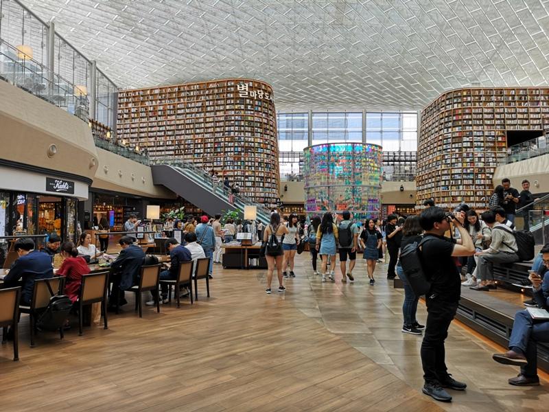 starfieldlibrary03 Seoul-首爾IG打卡熱點COEX MALL Starfield Library星空圖書館 超好拍