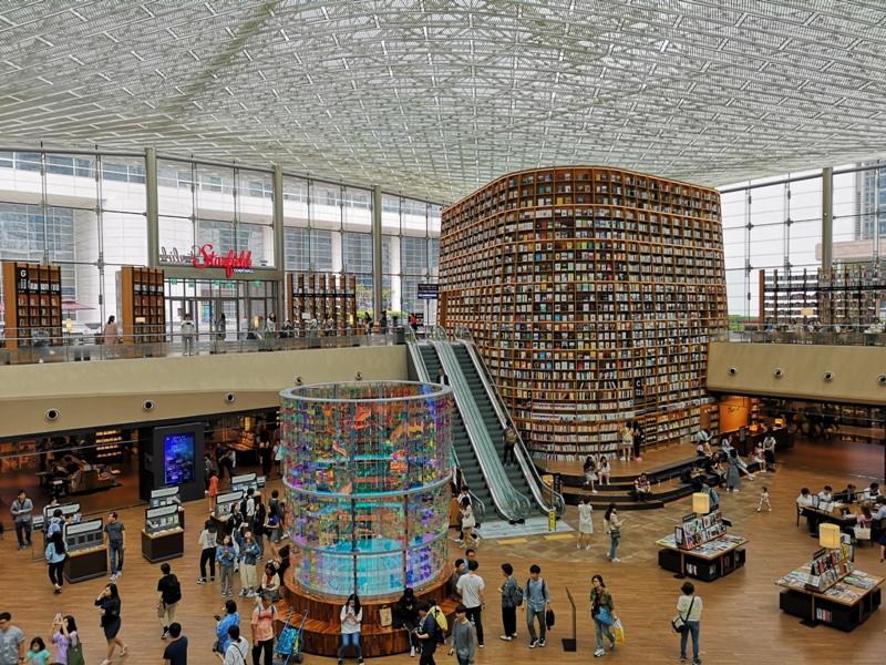 starfieldlibrary09 Seoul-首爾IG打卡熱點COEX MALL Starfield Library星空圖書館 超好拍