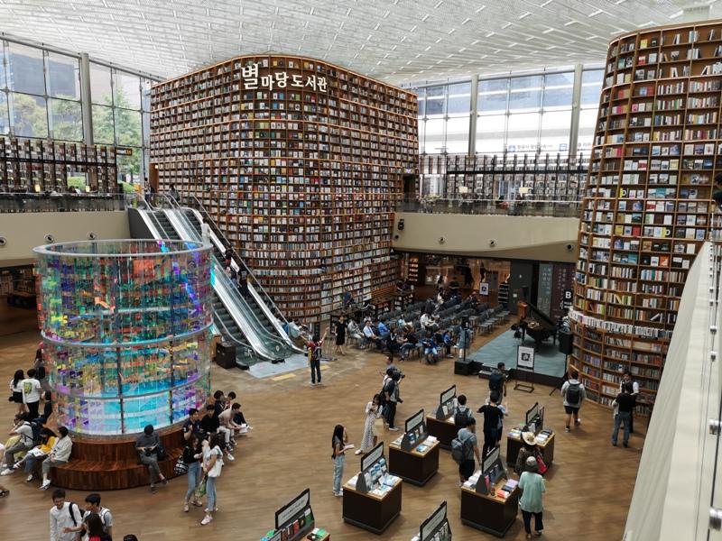 starfieldlibrary17 Seoul-首爾IG打卡熱點COEX MALL Starfield Library星空圖書館 超好拍