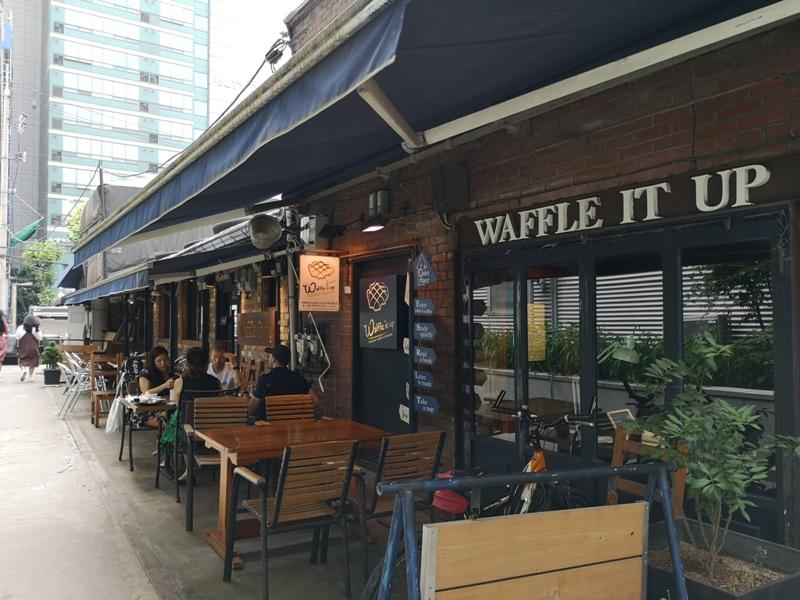 waffleitup030103 Seoul-首爾Waffle It Up梨大商圈 好好吃的鬆餅 給學生安靜的讀書空間 給旅人輕鬆地歇腳時光