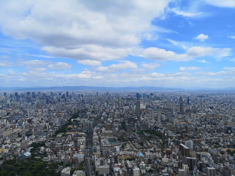 abenoharukas0107 Tennoji-阿倍野Harukas 300展望台 日本最高樓的大阪景觀