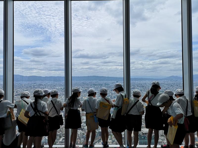 abenoharukas0116 Tennoji-阿倍野Harukas 300展望台 日本最高樓的大阪景觀