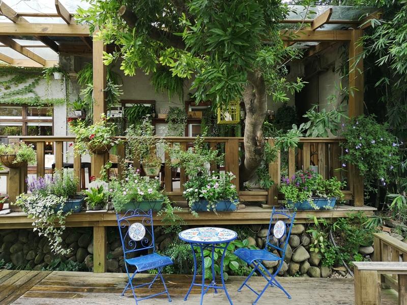 redbrick07 竹北-新瓦屋紅瓦紫藤 在花園也是花園的超綠意咖啡館