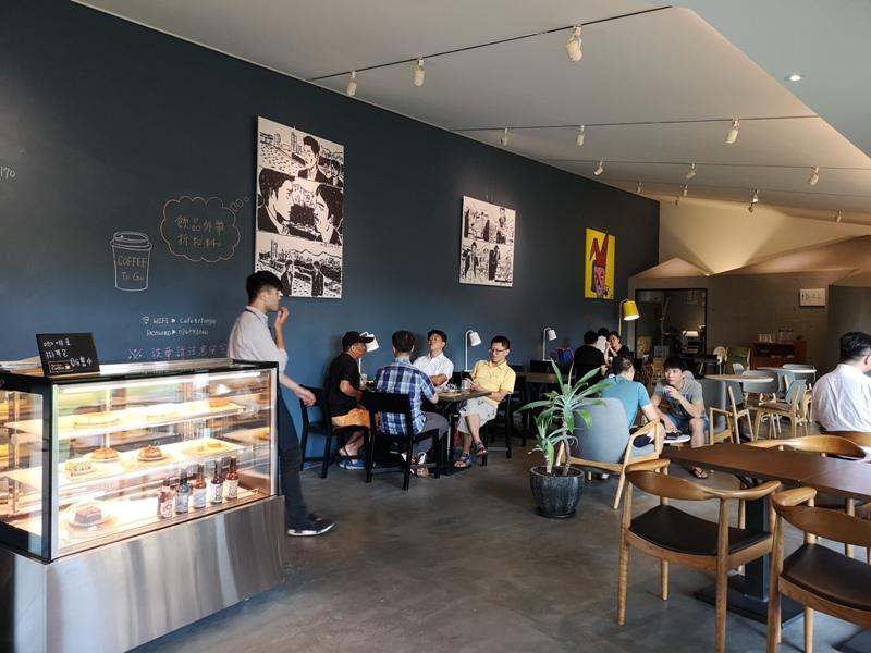 triangle1810 竹北-三角咖啡館 人咖啡與建築 最美的建築好喝的咖啡