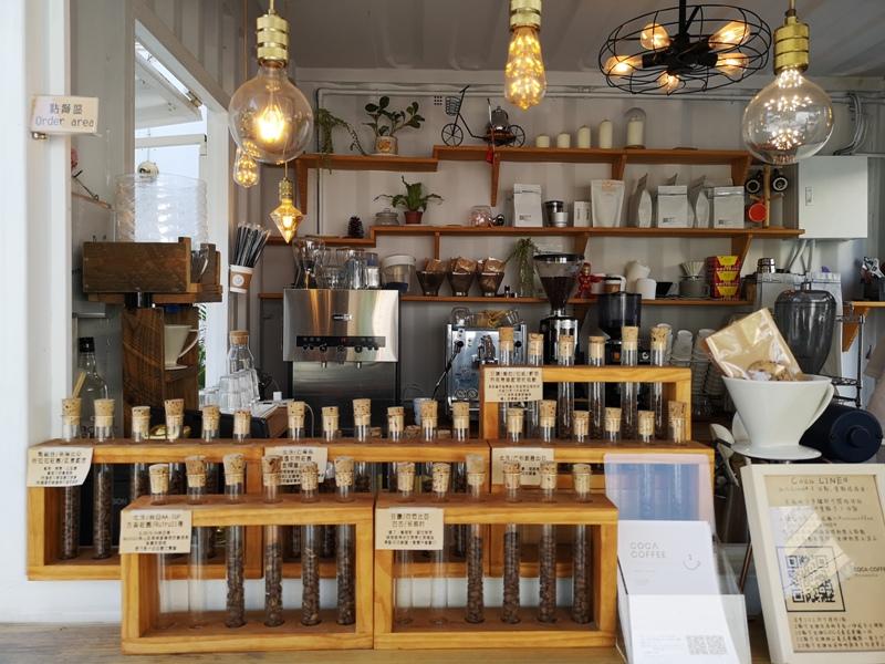 cocacoffee19 竹北-Coca Coffee超網美夢幻手沖咖啡吧...貨櫃屋概念的熱...