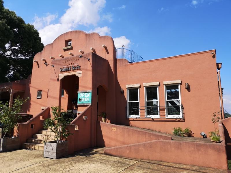 paradisecafe02 Odawara-Paradise Cafe Saddle Back藍天綠樹海景紅瓦屋 江之浦的景觀咖啡