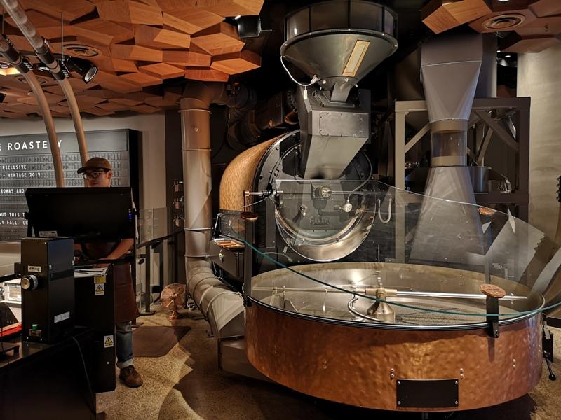 starbucksSH14 Shanghai-上海臻選咖啡烘焙工坊 咖啡製作流程大公開