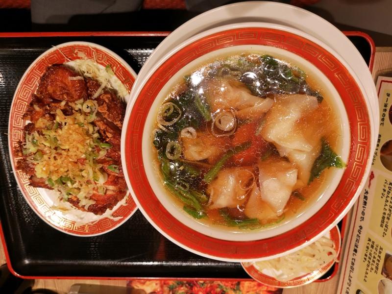 guangzhou09 Tamachi-広州市場ムスブ 手包雲吞配炸排骨 港式中餐有點鹹