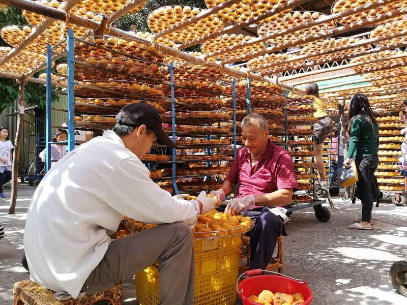 xinpu0128 新埔-味衛佳 北台灣秋天美麗的風景 好吃好玩好好拍的柿餅