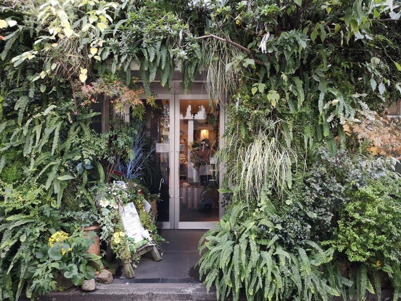 flowercafe02 Minami Aoyama-風花 南青山小巷內綠意盎然 嵐 迷哥迷姐咖啡館