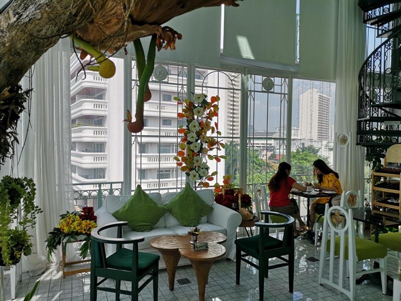 organikahouse19 Bangkok-Organika House (Spa & Cafe)純白青綠無敵浪漫 曼谷網美咖啡館