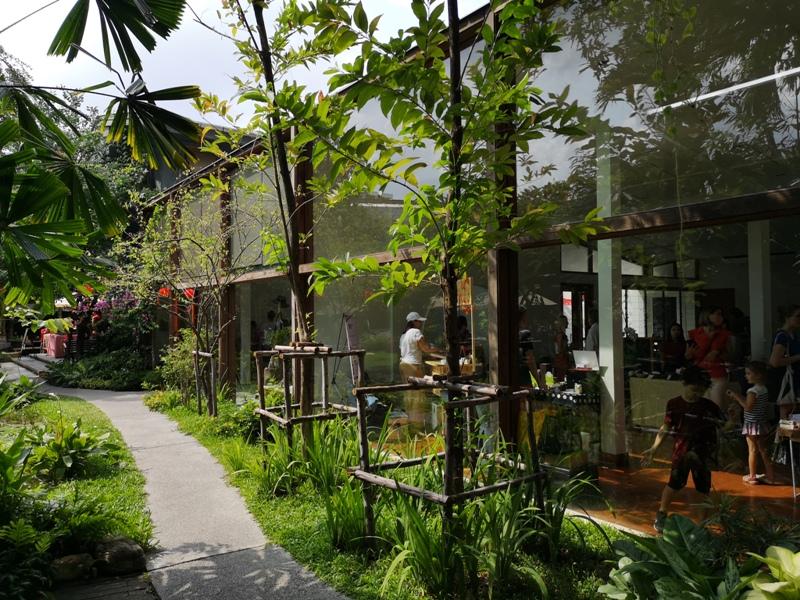 patomliving29 Bangkok-鬧區中小森林Patom Organic Living玻璃屋吸睛好拍 假日市集熱鬧好逛