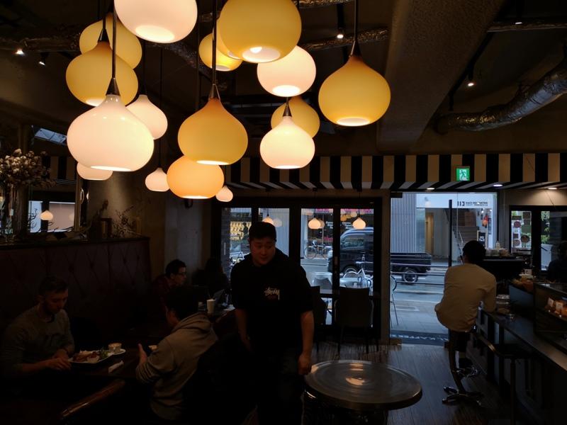 mondialcoffee10 Osaka-Mondial Kaffee大阪難波附近美式復古風咖啡館 果真冠軍的拉花啊