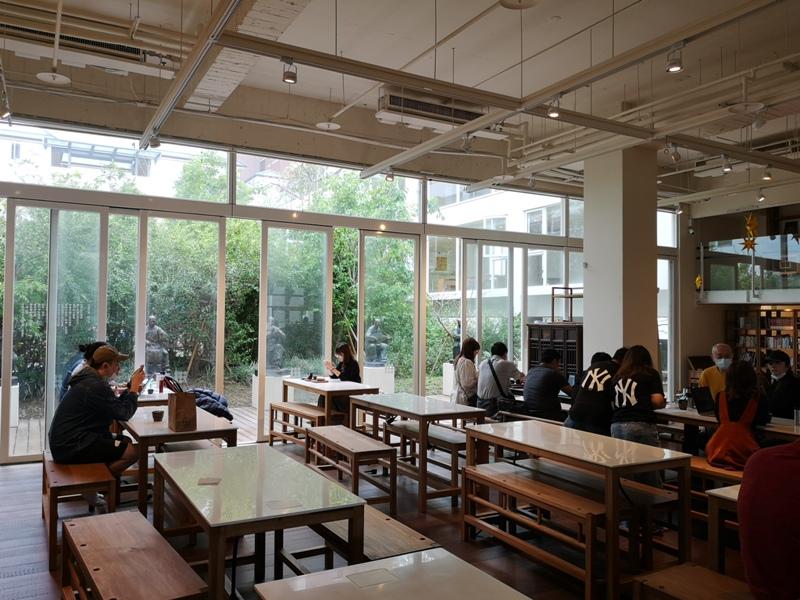 bluebeans08 竹北-藍豆咖啡 帶著現代清爽明亮的日式空間 喝杯咖啡感受小學校人文氣息