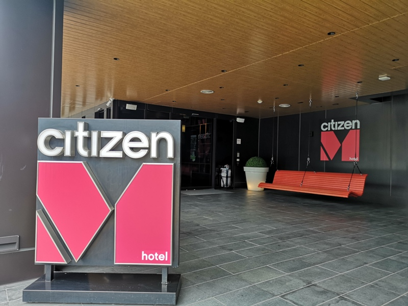 citizenMtaipei01 中正-台北北門CitizenM酒店 時尚摩登多彩又純白
