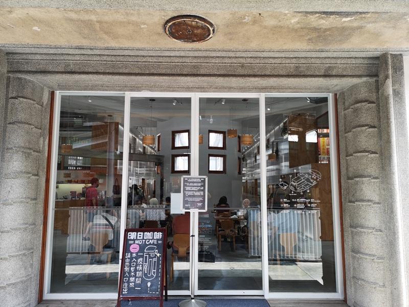 motcafe03 萬華-新富町文化市場老建築舊味道 馬蹄形天井超好拍  順便明日咖啡喝一杯