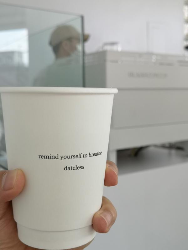 dateless18 三重-Dateless Coffee純白的時尚 不趕時間只有與朋友的輕鬆對談