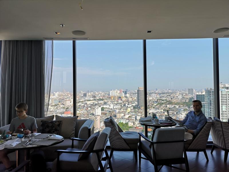 surawongselounge08 Bangkok-曼谷Marriott Hotel The Surawongse太超值...完美住宿大套房網美游池