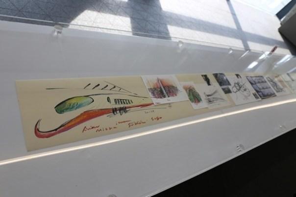 Ando14 霧峰-亞洲現代美術館(亞洲大學內) 大師就是大師 安藤忠雄 清水模三角形與光 大破大立展覽吸引人