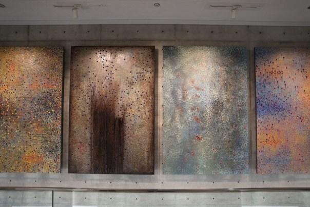 Ando21 霧峰-亞洲現代美術館(亞洲大學內) 大師就是大師 安藤忠雄 清水模三角形與光 大破大立展覽吸引人