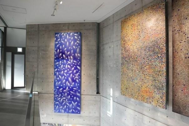 Ando22 霧峰-亞洲現代美術館(亞洲大學內) 大師就是大師 安藤忠雄 清水模三角形與光 大破大立展覽吸引人